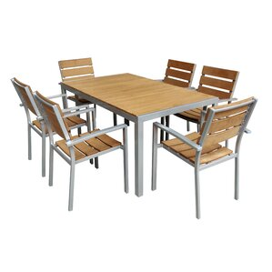 7 Piece Dining Set by Jeco Inc.