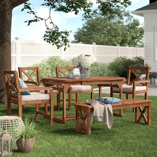 0a5e42079f88 Tim X-Back 6 Piece Dining Set with Cushions