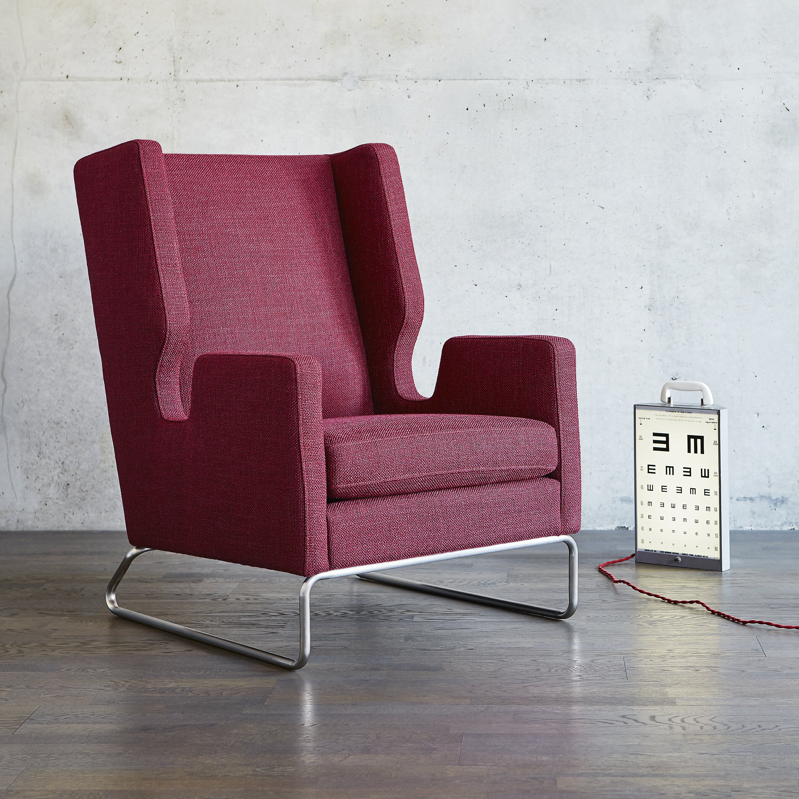 Danforth wingback chair reviews allmodern