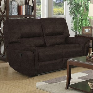 Bumpy Reclining Loveseat b..