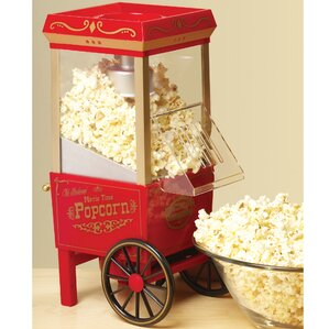 old fashioned 35 oz movietime hot air popcorn maker