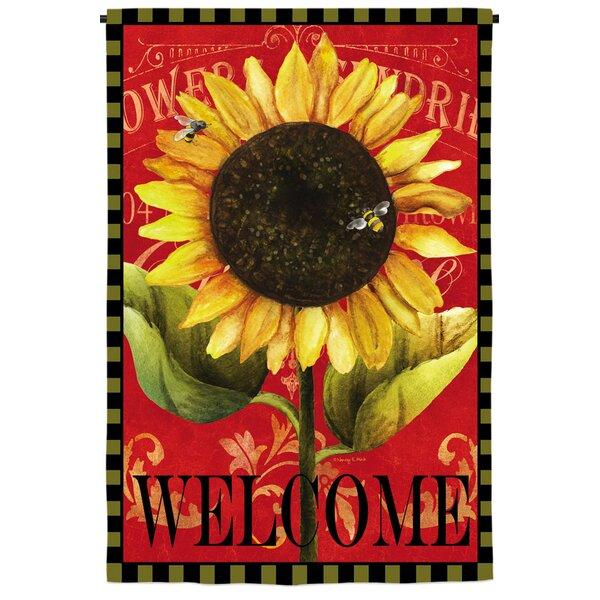 Evergreen Enterprises Inc Sun Flower Fabric 1 5 X 1