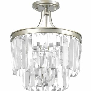 Eggar 3-Light Sparkle Crystal Chandelier
