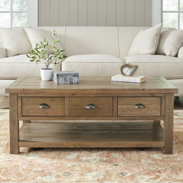 Lane Sliding Door Coffee Table: Birch Lane™ Seneca Coffee Table & Reviews