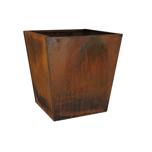 Nice Planter Corten Steel Planter Box Reviews Wayfair