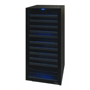 110 Bottle Butler Series Dual Zone Freestanding Wine Cooler by Vinotemp