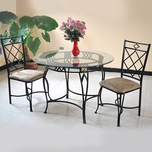 Blondelle 5 Piece Breakfast Nook Dinning Set