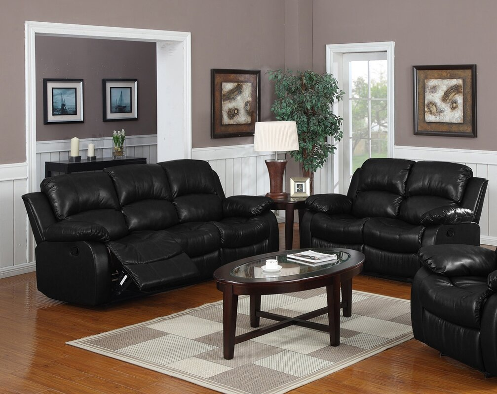 Latitude Run Bryce 2 Piece Reclining Living Room Set Reviews