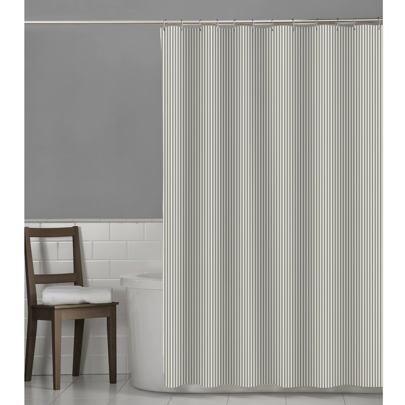 Murakami Seersucker Stripe Shower Curtain
