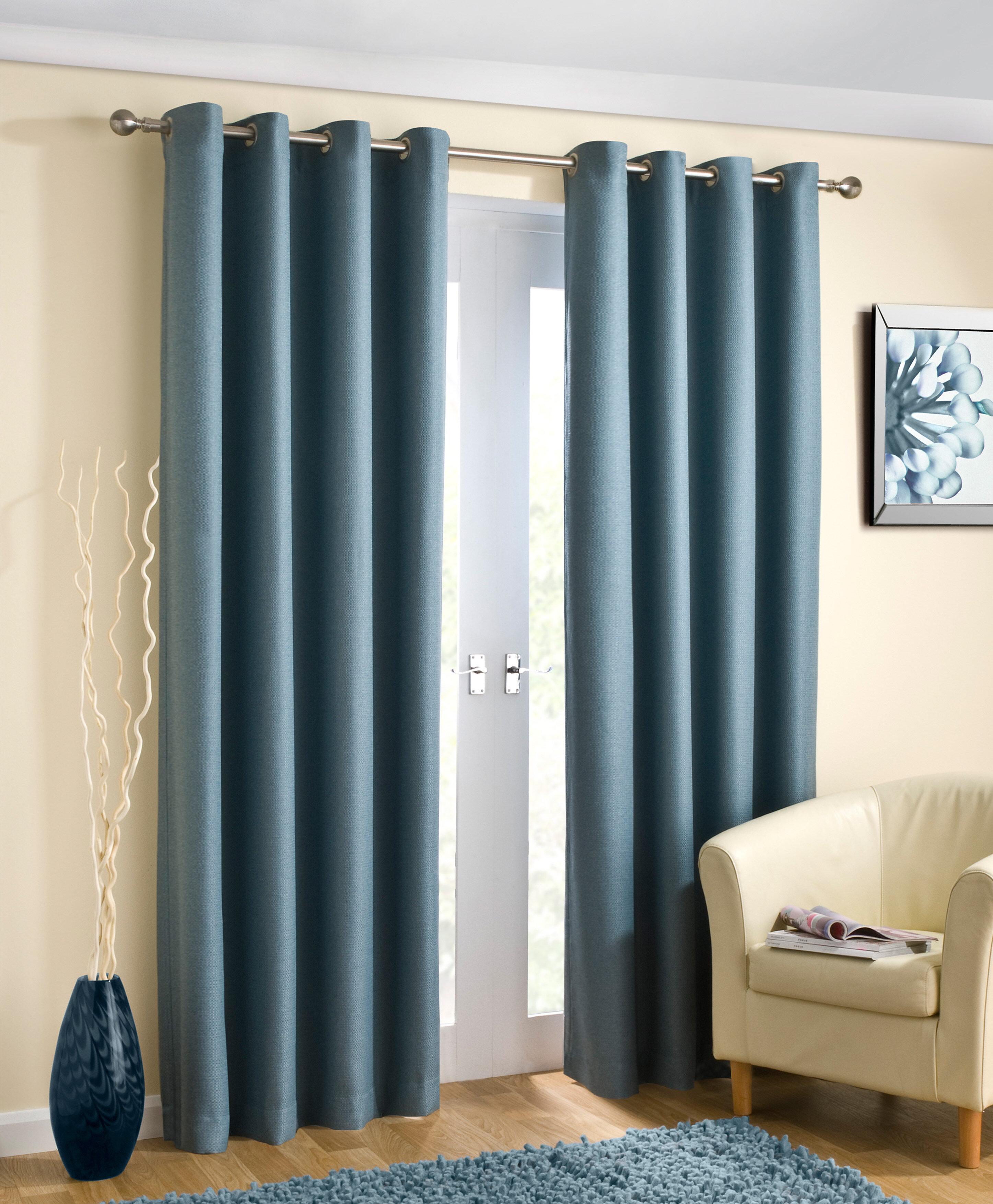 aqua blue blackout curtains curtain thermal louisiana pleat light pencil lined