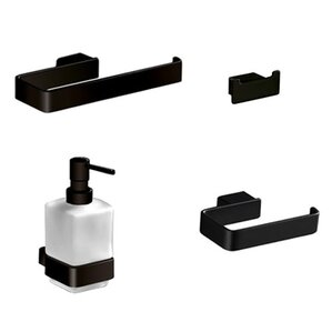 Exceptional Lounge 4 Piece Bathroom Hardware Set