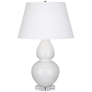 Charming Robert Abbey Large Double Gourd Table Lamp