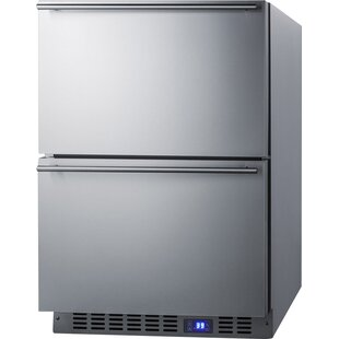 Summit Built In 23.63 Inch 3.4 Cu.ft. Undercounter Drawer Refrigerator
