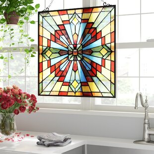 Leaded Glass Window Panels Wayfair