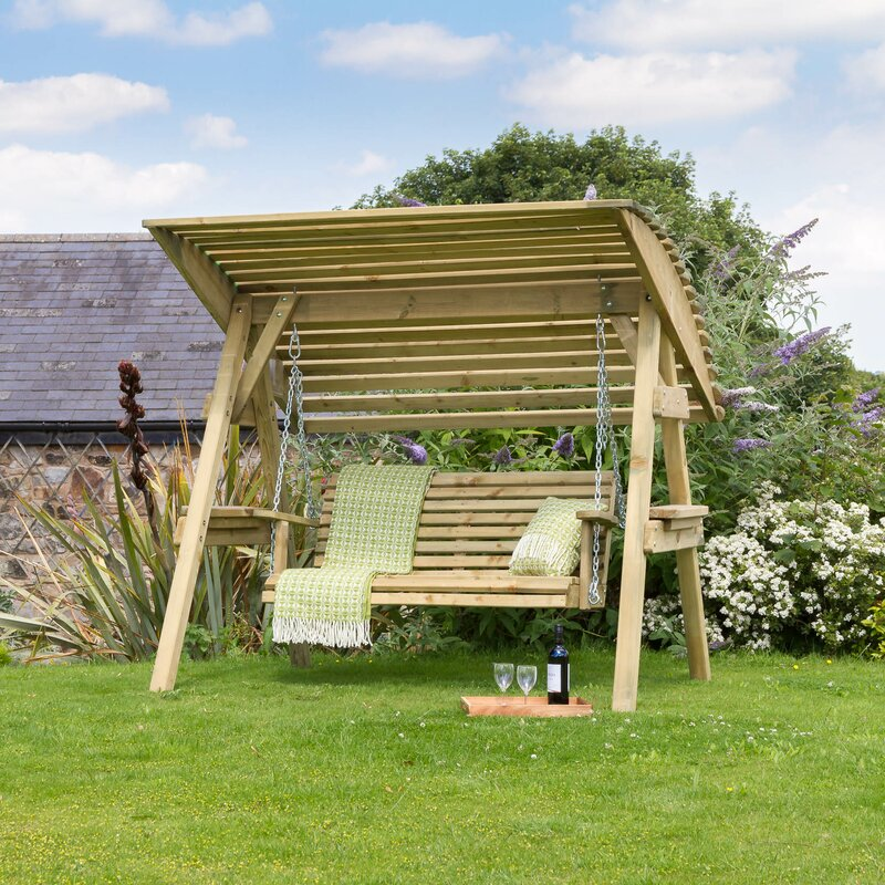 Lynton Garden Groveland Swing Seat with Stand & Reviews ...