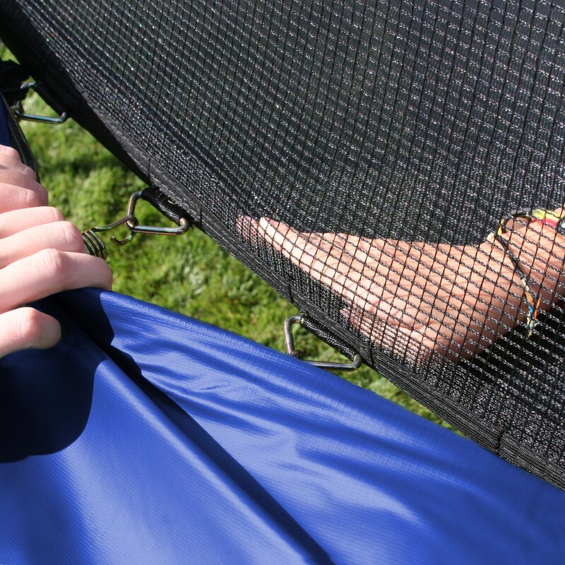 Skywalker 17 X 15 Oval Trampoline With Safety Enclosure