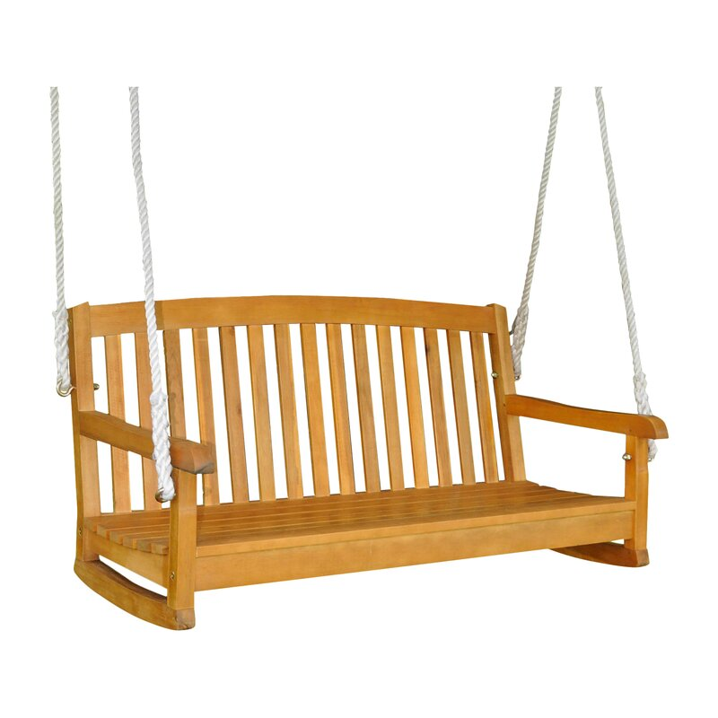 hanging porch swing beachcrest home bristol porch swing amp reviews wayfair 10905