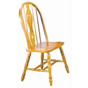 Sunset Selections Keyhole Back Side Chair..
