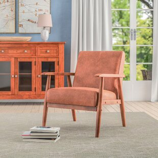 Leather Accent Chairs Metal Legs Caramel.Faux Leather Accent Chairs You Ll Love In 2019 Wayfair