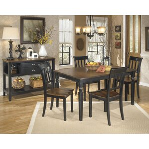 Velma 5 Piece Dining Set by Andover Mills