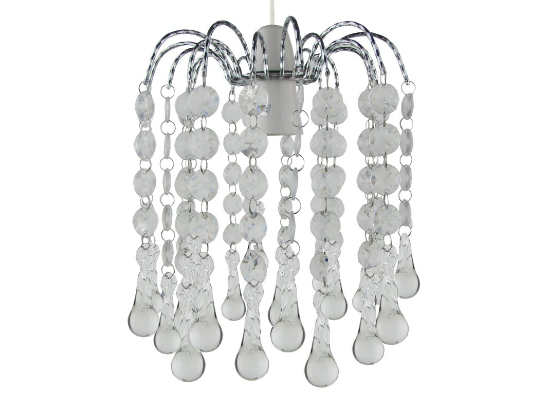 loxton lighting 19 cm lampenschirm snowdrop aus glas. Black Bedroom Furniture Sets. Home Design Ideas