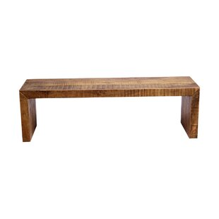 Luray Solid Mango Wood Bench
