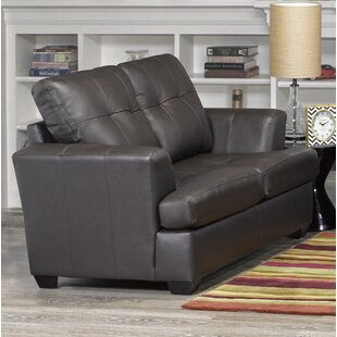 Semi Aniline Leather Sofa | Wayfair