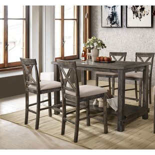 Vanderpool 5 Piece Counter Height Dining Set