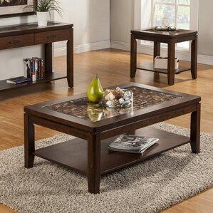 Granada Coffee Table by Alpine Furniture