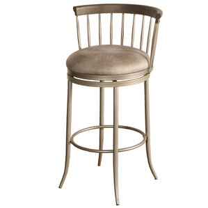 Thach 26'' Swivel Bar Stool by Everly Quinn