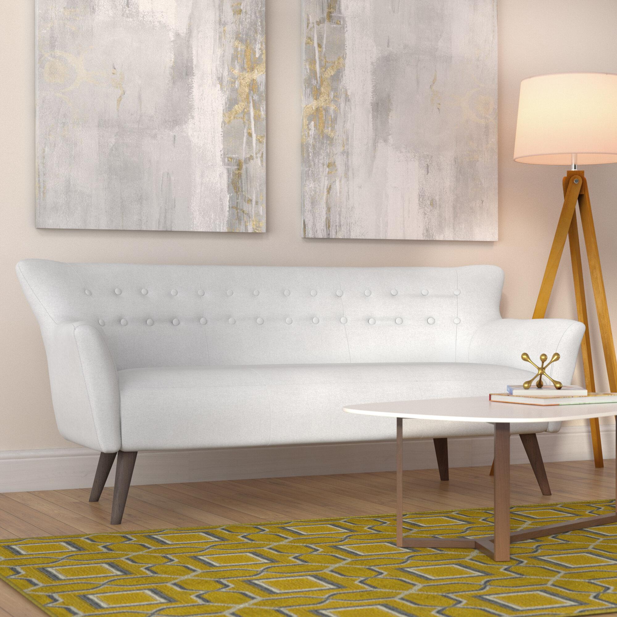 Langley street gabrielle mid century modern sofa reviews wayfair
