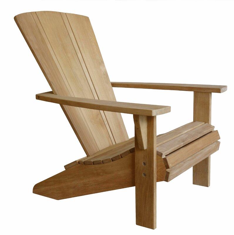 Great Santa Fe Solid Wood Adirondack Chair