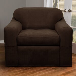 Box Cushion Armchair Slipcover Set