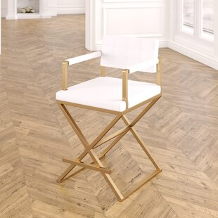 Laurenza Steel Bar Stool