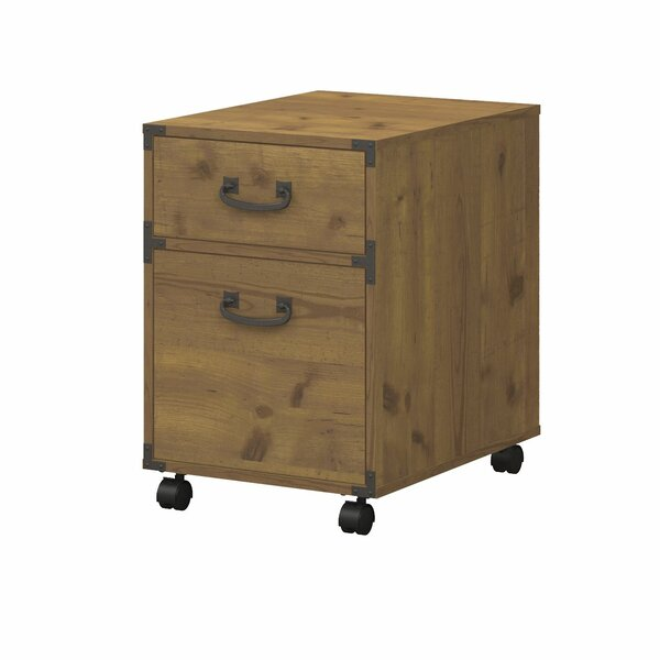 Kathy Ireland Office By Bush Ironworks 2 Drawer Pedestal Mobile Vertical  File U0026 Reviews | Wayfair