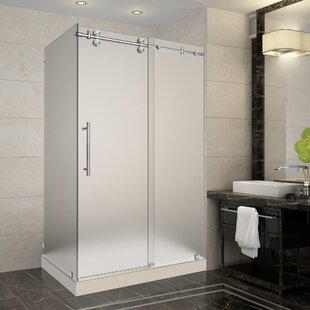 Frosted Glass Shower Stalls U0026 Enclosures Youu0027ll Love | Wayfair