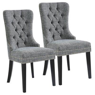 Meleze Multi Tone Fabric Upholstered Dining Chair (Set of 2)  sc 1 st  Wayfair & Calligaris Parisienne Patio Dining Chair u0026 Reviews | Wayfair