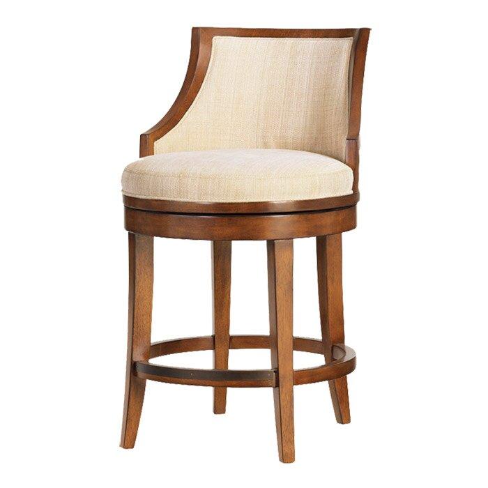 Swivel Bar Chair tommy bahama home ocean club swivel bar stool & reviews | wayfair