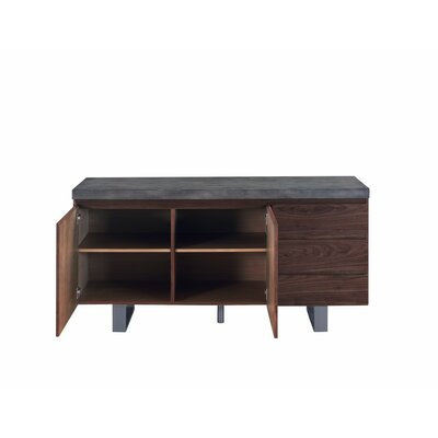 Billingsley Transitional Wooden Sideboard Foundry Select