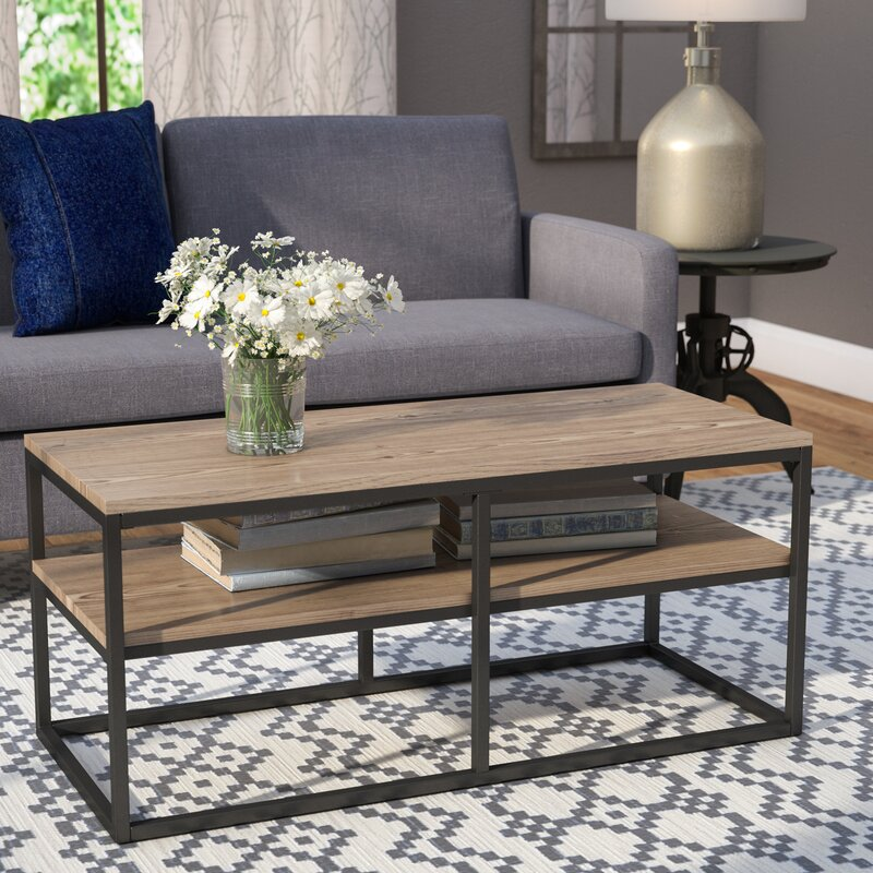 Modern Farmhouse Coffee Table: Laurel Foundry Modern Farmhouse Forteau Coffee Table