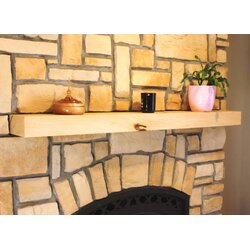 Kettle Moraine Fireplace Mantel Square Shelf & Reviews   Wayfair