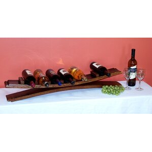 7 Bottle Tabletop Wine Rack by 2 Day Designs, Inc