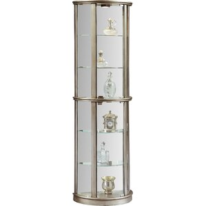 Gracelyn Lighted Curio Cabinet by Willa A..