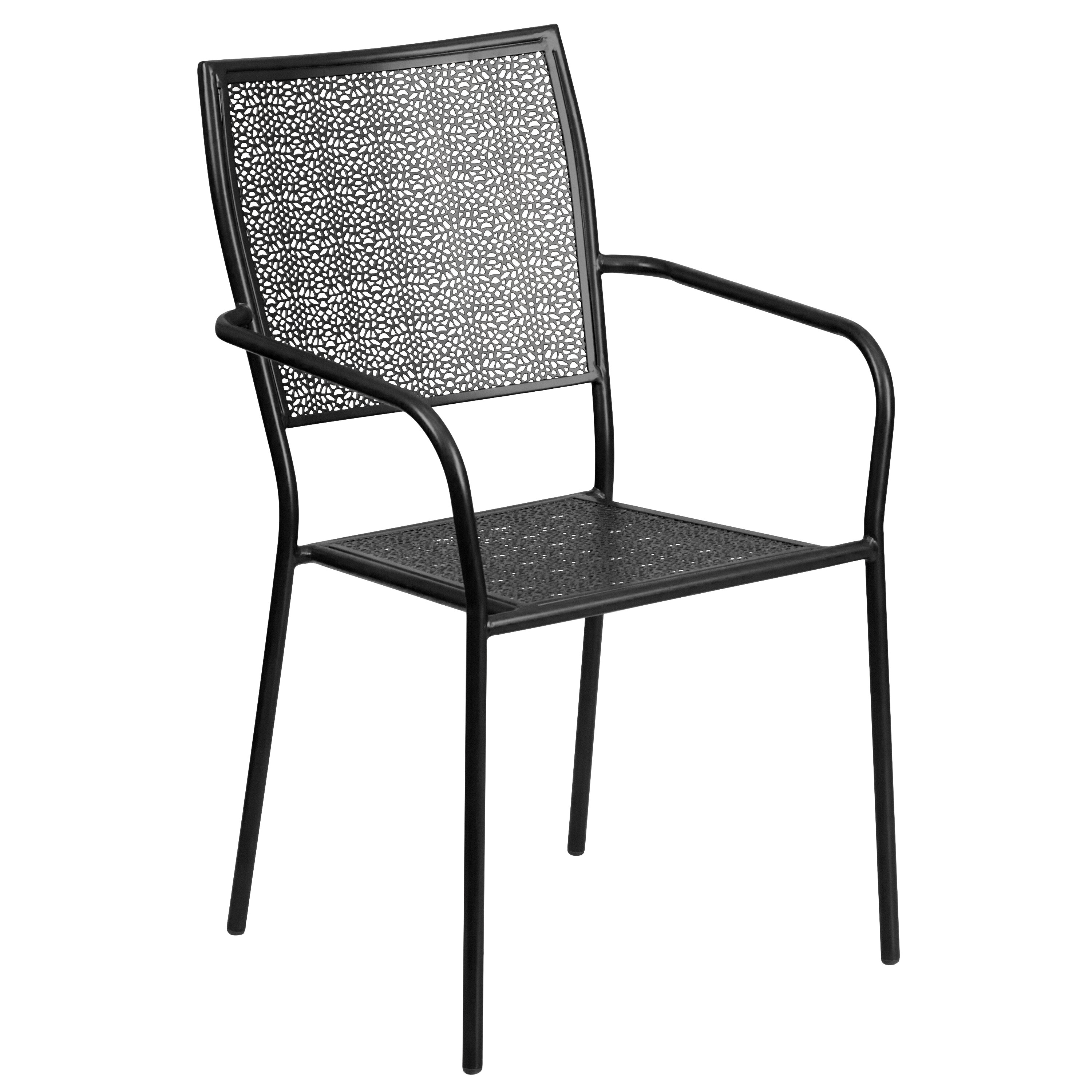 Winston Porter Aldergrove Stacking Patio Dining Chair & Reviews