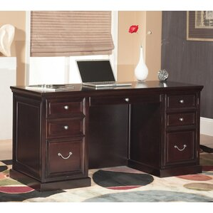 Fulton Double Pedestal Executive Desk. Fulton Double Pedestal Executive  Desk. By Kathy Ireland Home By Martin Furniture