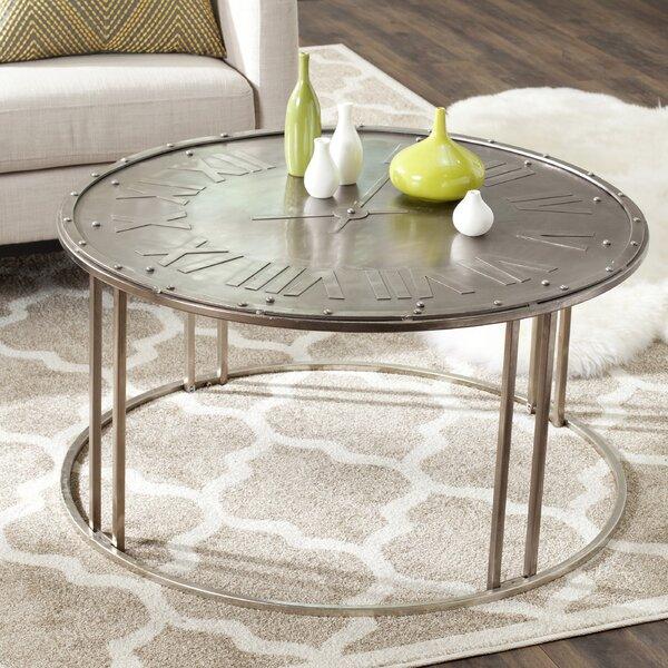 Attrayant Safavieh Fox Roman Clock Coffee Table U0026 Reviews   Wayfair