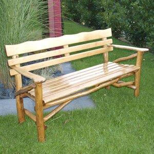 3-Sitzer Gartenbank Mosel aus Massivholz von Hom..
