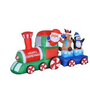 Outdoor Christmas Train | Wayfair