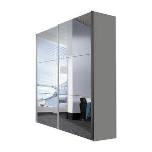 Schwebetürenschrank Solutions Bianco, 216 cm H x 175 cm B x 68 cm T von Express Möbel