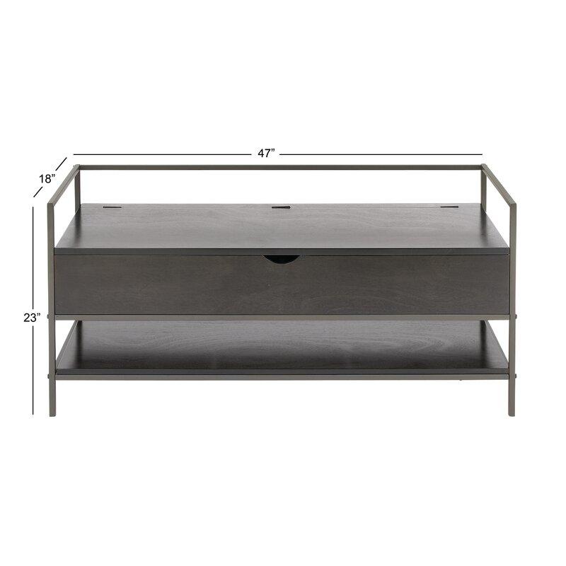 Cole & Grey Storage Bench   Wayfair